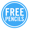 BUNDLE - Free pencils