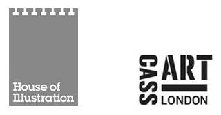 House of Illustration and Cass Art logos