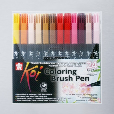 Sakura Koi Colour Brush Set 24 | Cass Art