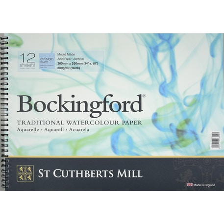 Bockingford Watercolour Spiral Pad 300gsm NOT | Cass Art