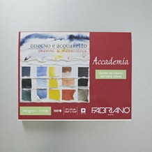 Fabriano Accademia Pad 240gsm 100 Sheets 27 x 35cm