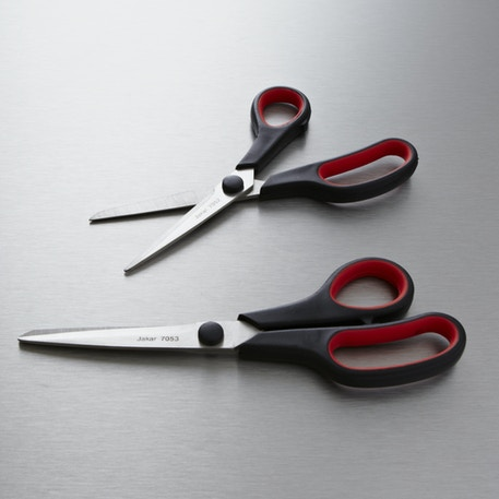Jakar Stainless Steel Scissors with Soft Grip Handle | Cass Art