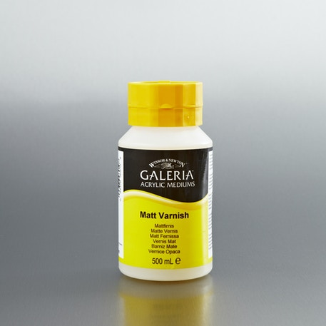 Winsor & Newton Galeria Gloss Varnish 500ml | Painting Varnish | Cass Art