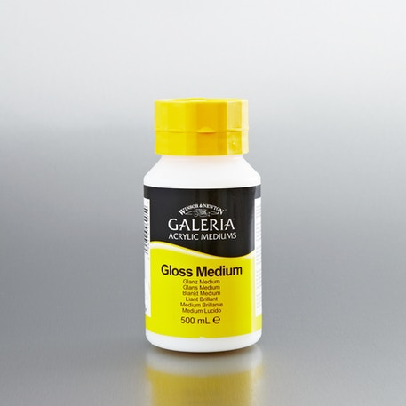 Winsor & Newton Galeria Gloss Medium 500ml | Cass Art