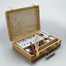 Winsor & Newton Artists' Oil Colour Bamboo Wooden Box