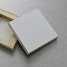 Daler Rowney Simply Mini Stretched Canvas 6.35 x 6.35cm White