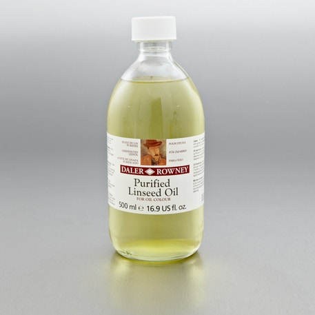 Daler Rowney Purified Linseed Oil 500ml | Cass Art