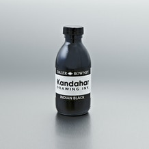 Daler Rowney Kandahar Drawing Ink 175ml Black