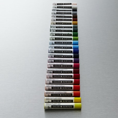 Daler Rowney Oil Pastel Set of 24 | Cass Art