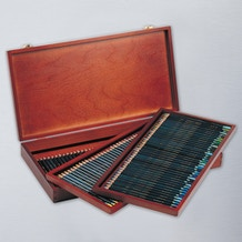 Derwent Artists Pencil Wooden Box Set of 120