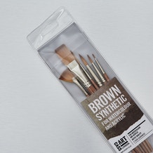 Cass Art Synthetic Brush Set of 6