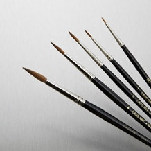 Cass Art Sable Brush Set of 5