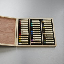 Sennelier Oil Pastel Colours in Wooden Box Set of 36