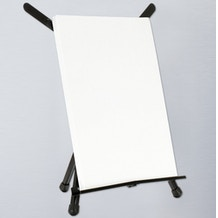 Jullian Folding Aluminium Table Easel + Adjustable Wings
