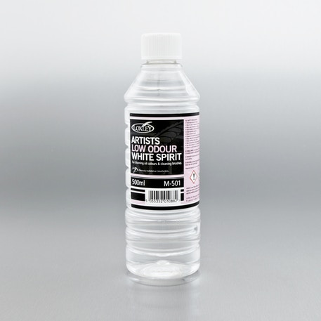 Colourfull Arts Low Odour White Spirit 500ml | Painting Mediums | Cass Art
