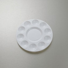 Loxley Plastic Circular Palette