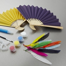 Creativity For Kids Fabulous Fancy Fans For Fun Mini Kit