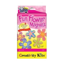 Creativity For Kids Fun Flower Magnets Mini Kit