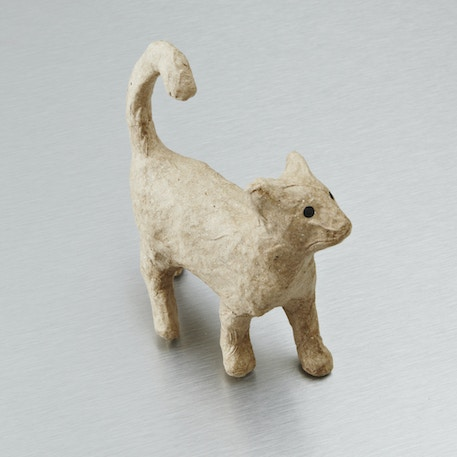 Decopatch Very Small Papier Mache Animal Walking Cat | Cass Art