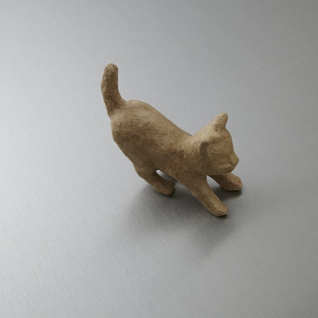 Decopatch Very Small Papier Mache Animal Pouncing Cat | Cass Art