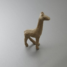 Decopatch Very Small Papier Mache Animal Giraffe