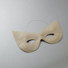 Decopatch Papier Mache Mask No.3 21 x 11cm