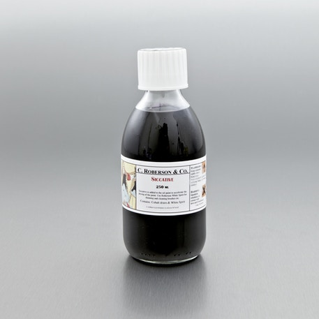 C Roberson Siccative 250ml | Oil Mediums | Cass Art