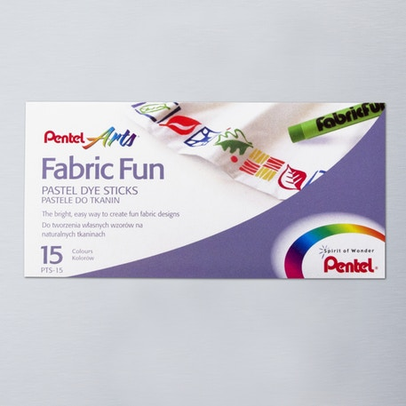 Pentel Fabric Pastel Set of 15 | Cass Art