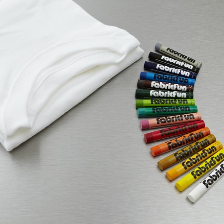 Pentel Fabric Fun Pastel & Tshirt Set of 15 | Cass Art