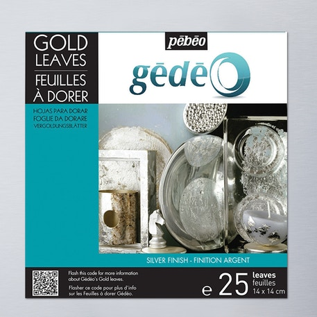 Pebeo Gedeo Gilding Leaves 25 Sheets | Cass Art