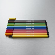Stabilo Pen 68 Wallet Set of 10 Assorted Colours