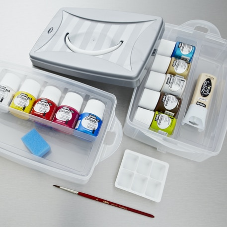 Pebeo Setacolour Opaque Workbox | Cass Art