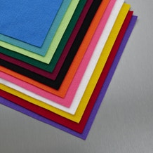 Craft Planet 9 x 12in. Acrylic Felt Sheets Set of 24