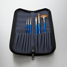 Winsor & Newton Cotman Brush Wallet Set of 6 - Cass Art Exclusive
