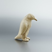 Decopatch Small Papier Mache Animal Penguin 20 x 14 x 14cm