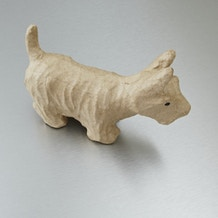 Decopatch Small Papier Mache Animal Scottie Dog