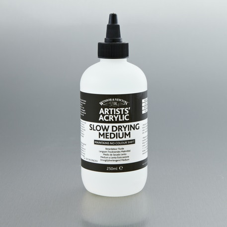 Winsor & Newton Artists' Acrylic Slow Drying Medium 250ml | Cass Art
