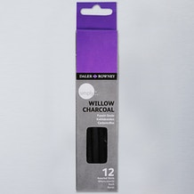 Daler Rowney Simply Willow Charcoal Set of 12