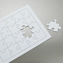 Craft Planet Make a Puzzle Two Jigsaw Blanks of 40 pieces