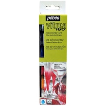 Pebeo Vitrea Glass Paint Discovery Pack of 6 20ml