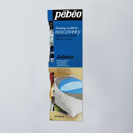 Pebeo Setacolor Fabric Paint Opaque Discovery Set of 6 20ml | Cass Art