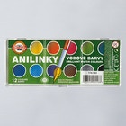 Koh-i-noor Anilinky Brilliant Watercolours Set of 12