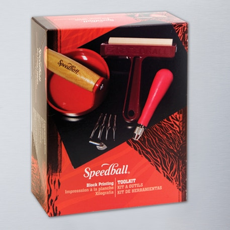 Speedball Block Printing Tool Kit | Lino Printing | Cass Art