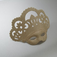 Decopatch Papier Mache Queen Mask 26 x 10 x 21.5cm