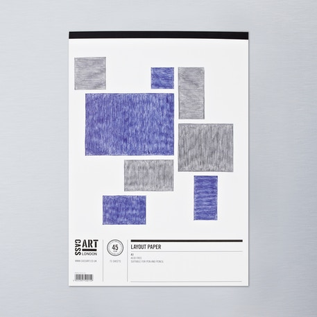 Cass Art Layout Pad 75 sheets | Cass Art