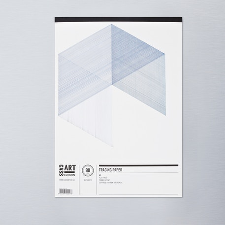 Cass Art Tracing 90gsm Pad 45 Sheets | Cass Art