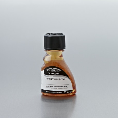 Winsor & Newton Liquin Fine Detail Medium 75ml | Oil Painting Mediums | Cass Art