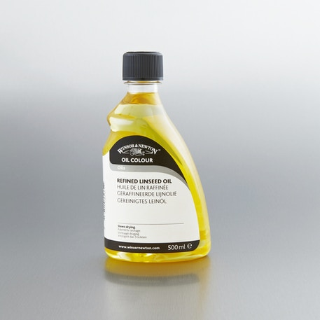 Winsor & Newton Refined Linseed Oil | Artist Painting Mediums | Cass Art
