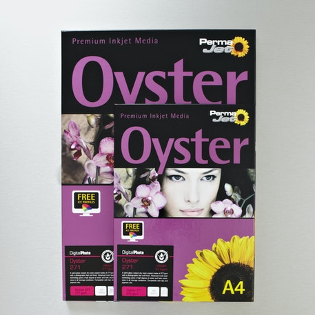 Permajet Digital Photo Paper Oyster 271gsm 25 Sheets | Cass Art