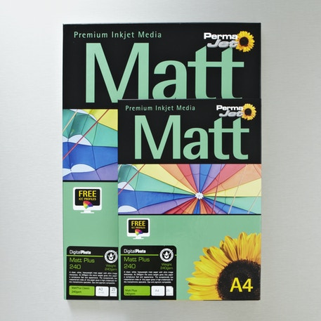 Permajet Digital Photo Paper Matt Plus 240gsm 25 Sheets | Cass Art